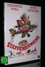 DVD ETAPPENSCHWEINE - alte FSK - ITALO-KOMÖDIE - TERENCE HILL + RITA PAVONE *NEU