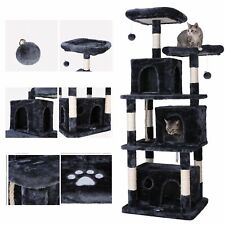 New listing 67''Multi-lev el Condo Cat Tree Play House Climber Activity Tower Stand Furniture