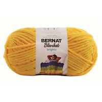Spinritebernat Blanket Brights Big Ball Yarn-school Bus Yellow, Other, - Bernat