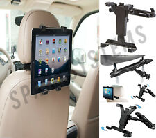 "Headrest In Car Back Seat iPad Holder Mount Cradle iPad Tablet upto 10"" Tablets"