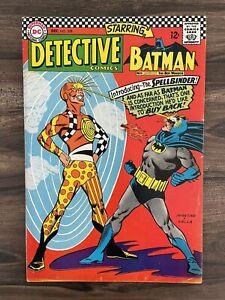 DETECTIVE COMICS #358-BATMAN-ROBIN-SUPERMAN 1ST APPEARANCE SPELLBINDER VF 8.0