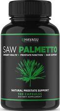 Saw Palmetto Supplement Prostate Health Urination DHT Blocker Hair Loss preven