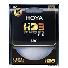 Hoya 77mm HD3 32-Layers Coating UV (Ultra Violet) Filter. U.S Authorized Dealer