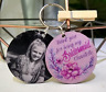 Personalised Wedding Favour Keyring Bridesmaid, Hen Party, Thank You Gift