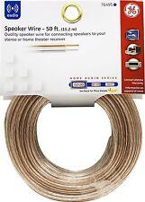 GE - 76495 - Speaker Wire 22 Gauge - 50ft