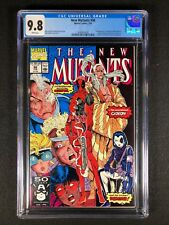 New Mutants #98 CGC 9.8 (1991) - 1st app of Deadpool