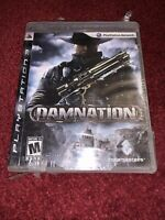 RARE Damnation Sony PlayStation 3 Brand New & FACTORY SEALED! READ PLEASE! *HTF*