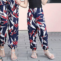 Kids Pants Girls Trousers Toddlers Summer Elastic Pants Soft Trousers Bottoms