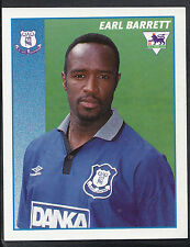 Merlin Football Sticker- 1997 Premier League - No 165 - Everton - Earl Barrett