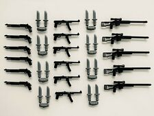 Custom weapons for LEGO Minifigures. Lot of 25. New! Accessories Pack Sniper Gun