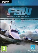 Flight Sim World (Includes Epic Approaches Mission Pack) PC DVD