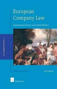 European Company Law, 2nd edition: Organization, Finance and Capital Markets (1