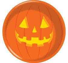 "3 x 6"" Round Halloween Bowl Plastic Party Pumpkin Jack O'Lantern"