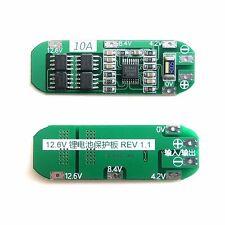 Seiko Protection IC 10A Protection Board For 3S 11.1V 12V 12.6V 18650 Lipo Batte