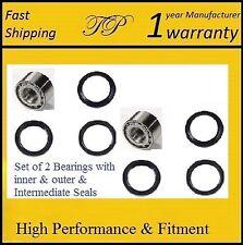 2 Rear Wheel Bearing &Seal Set For 93-07 SUBARU IMPREZA (RS, WRX, Outback Sport)