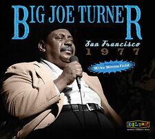 BIG JOE TURNER w MIKE BLOOMFIELD Sealed 2018 UNRELEASED 1977 CONCERT 2 CD SET