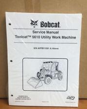 Bobcat 5610 Toolcat Utility Vehicle Service Manual Shop Repair Book 2 # 6990054