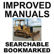 John Deere 450h 550h 650h Crawler Dozer Operator Maintenance Manual Omt182515 Cd