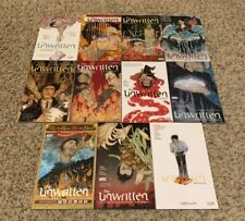 DC/Vertigo Comics TPB Lot-The Unwritten-Complete Series