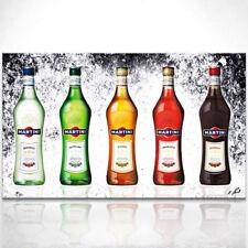 Bar Martini Flaschen Party Bild auf Leinwand Abstrakte Bilder Wandbilder D0599