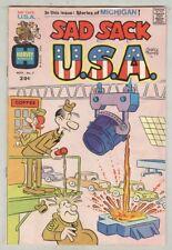 Sad Sack U.S.A. #7 November 1973 VG Michigan