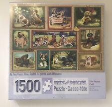 Bits & Pieces The Puppy Card 1500 Piece Jigsaw Puzzle T.E. Breitenbach