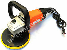 "7""  AUTO CAR PAINT POLISHER/BUFFER WAXER SANDER UL 10AMP NEW w/ BACKING PAD"