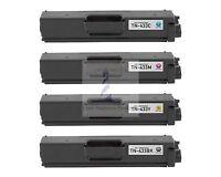 CMYK Toner Cartridge Set for Brother HL-L8260 HL-L8360 MFC-L8610 MFC-L8900