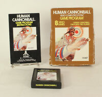 Vintage Boxed Atari 2600 game Human Cannonball Tested & Working