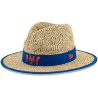 New Era New York Mets Natural Shaded Straw Hat