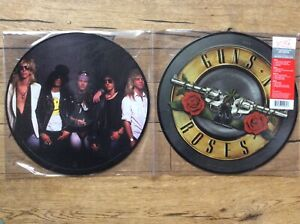 GUNS N ROSES Vinyl Greatest Hits Double LP Picture Vinyl Disc Limited Edition
