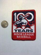 Official Minor League Baseball MLB 100th Anniversary Centennial Patch