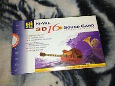 Hi-ValHi Val 3D 16Bit Sound Card Enhanced Audio