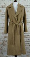 WINDSMOOR Wool and Cashmere Beige Coat size 10