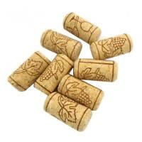 10pcs Storage Material Wine Tools Round Cork Plug Wine Stopper Bottle Plug Corks