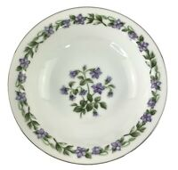 Vintage Jyoto Fine China Japan 4 Fruit Bowls Glendale Pattern Violet 5 1/2""