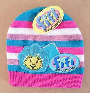 Fifi & The Flowertots – Fifi Kids/Girls Beanie Hat Size 1-6 New With Tags