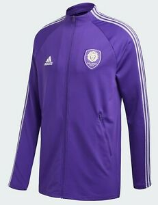 Orlando City SC Travel Jacket Purple Mens Football