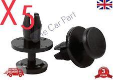 5x Peugeot Parachoques Rueda Arco Forro Interior De 207 407 807 clips de Protector de salpicaduras
