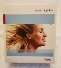 OTICON AGIL PRO RIC Hearing Aids LEFT & RIGHT Orig box 2 EXTRA SPEAKER ASSY INCL