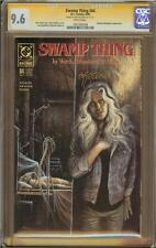 Swamp Thing #84 CGC 9.6 Signature Series Signed JOHN TOTLEBEN