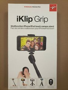 Iklip Grip Multimedia Tripod Selfie Stick Phone Stand Iphone Android New