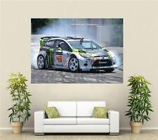 Ken Block Ford Rally GRANDE POSTER 2 S356