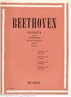Beethoven: Sonata Für Klavier (Piano Sonata) Op.28 Pastorale (Fach) Erinnerungen
