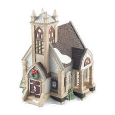 Department 56 New England New Britain Vestry Church Village