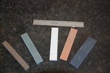 5 pc Sharpening Oil Slip  Stone Assortment  4