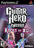 Guitar Hero Encore Rocks the 80s PS2 PlayStation 2 Brand New Sealed Black Label