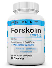 Pure Weight loss Extreme 800mg FORSKOLIN Coleus Forskohlii 20% extract 60 Dosage