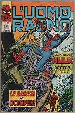 L' UOMO RAGNO corno # 89  LE BRACCIA DI OCTOPUS ! hulk dr. strange silver surfer