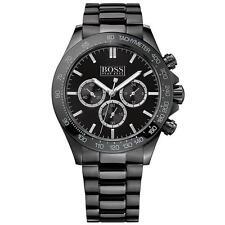 HUGO BOSS Armbanduhren mit Chronograph und Glanz-Finish für Erwachsene
